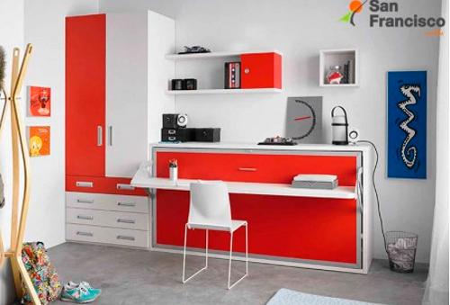 Muebles imprescindibles para habitaciones juveniles