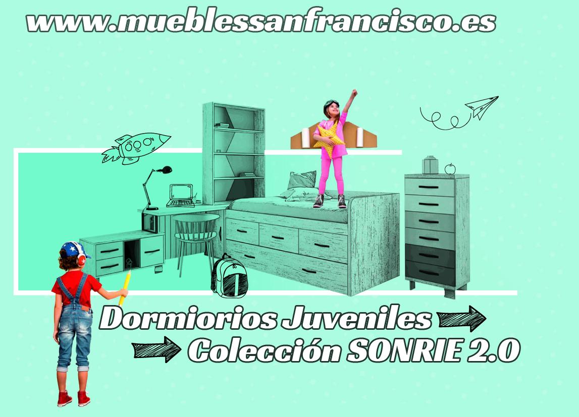 Nueva coleción SONRIE 2.0 dormitorios juveniles a medida